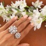 Iris Adjustable Ring #4009